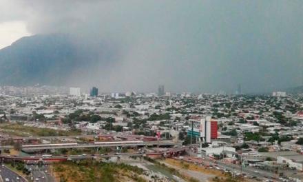 Regresarán lluvias a área metropolitana