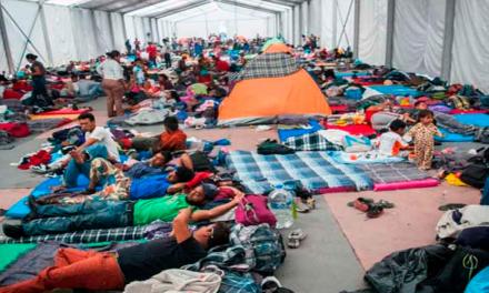 Detectan varicela en la caravana de migrantes