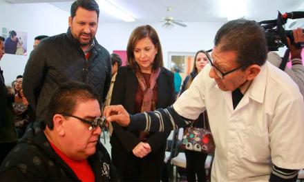 "Inicia Cristina Díaz programa ""Ojos que sí ven, corazón que sí siente"""