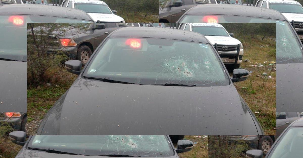 Enfrentamiento entre ministeriales y hombres armados en Juárez