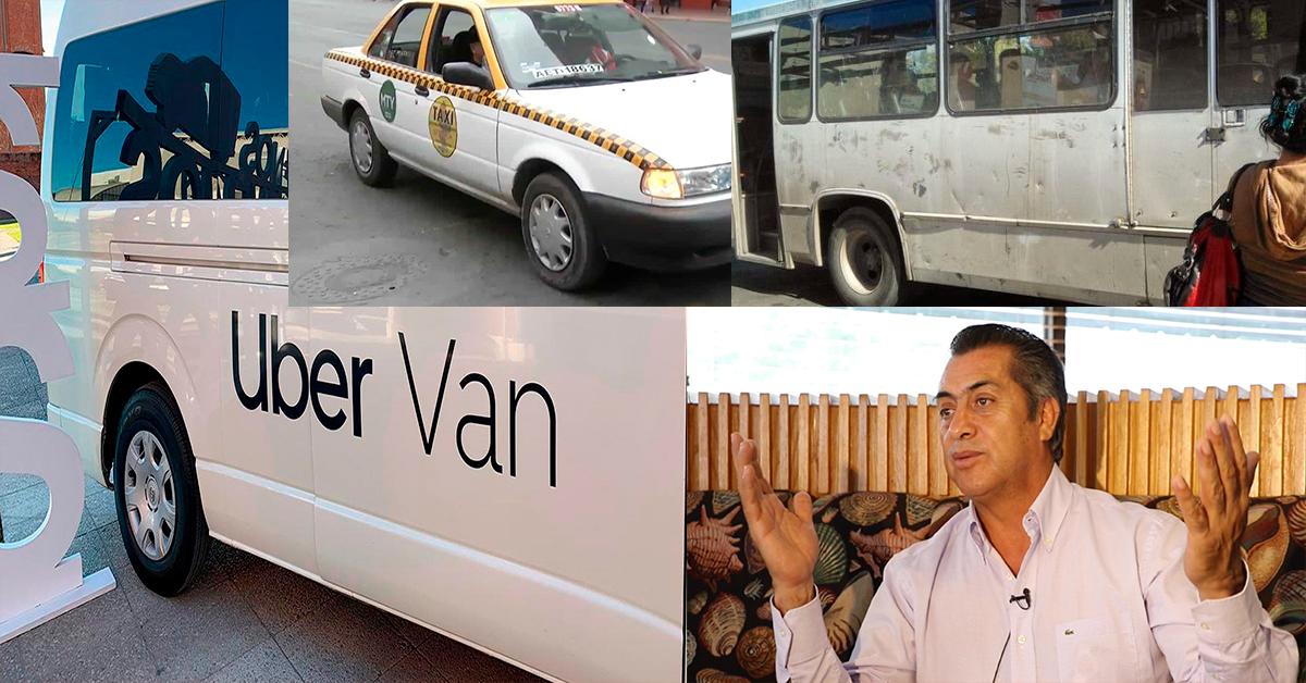 Estado de NL contra Uber, decomisa 10 vans