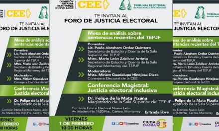 Foro de Justicia Electoral