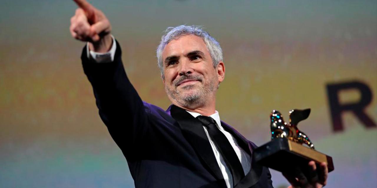 'Roma' de Cuarón recibe Globo de Oro