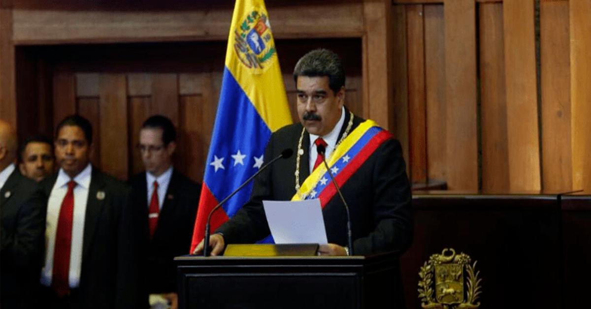 ¡'Viva México!', dijo Maduro durante toma de protesta