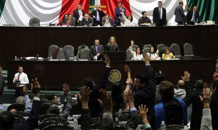 Legisladores aprueban periodo extraordinario para debatir Guardia Nacional