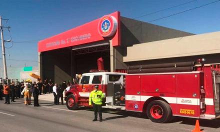 Tiene Escobedo nueva estación de bomberos