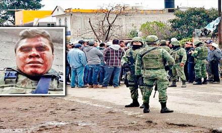 Retienen y golpean a tres militares en Tula