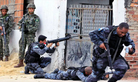Autorizan a policía de Río de Janeiro dar muerte a delincuentes armados