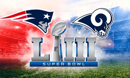 Patriotas vs. Carneros en la 53° edición del Super Bowl
