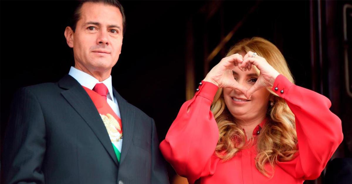Angélica Rivera amenaza a Peña Nieto