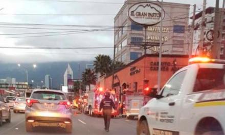 Incendian restaurante el Gran Pastor en Gonzalitos