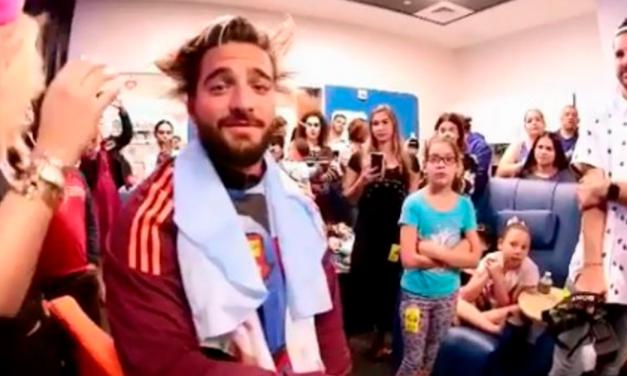 ¡Maluma se cortó el cabello por una noble causa!