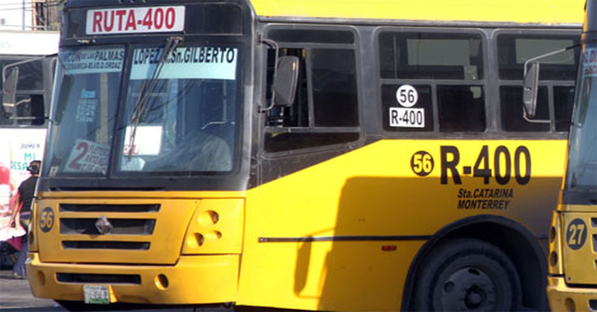 Se acabaron los descuentos del trasbordo en el camión urbano