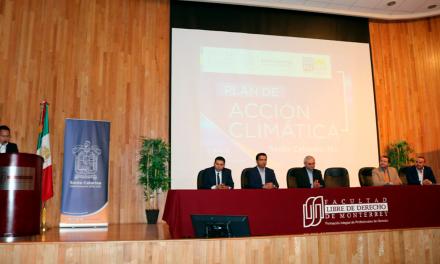 Propone Santa Catarina Pacto Ambiental a municipios de NL
