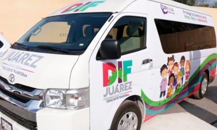 Recibe DIF Juárez, nuevas unidades para apoyo a menores víctimas de violencia