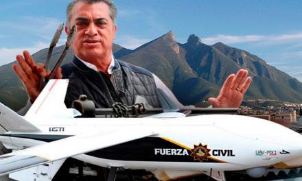 'El bronco' gasta 54 millones en dron
