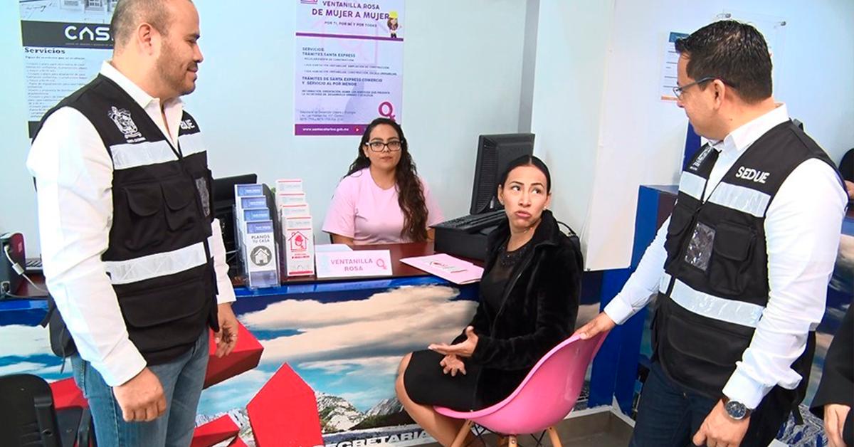 """Abre Santa Catarina """"Ventanilla Rosa"""" en SEDUE para atención express a mujeres"""