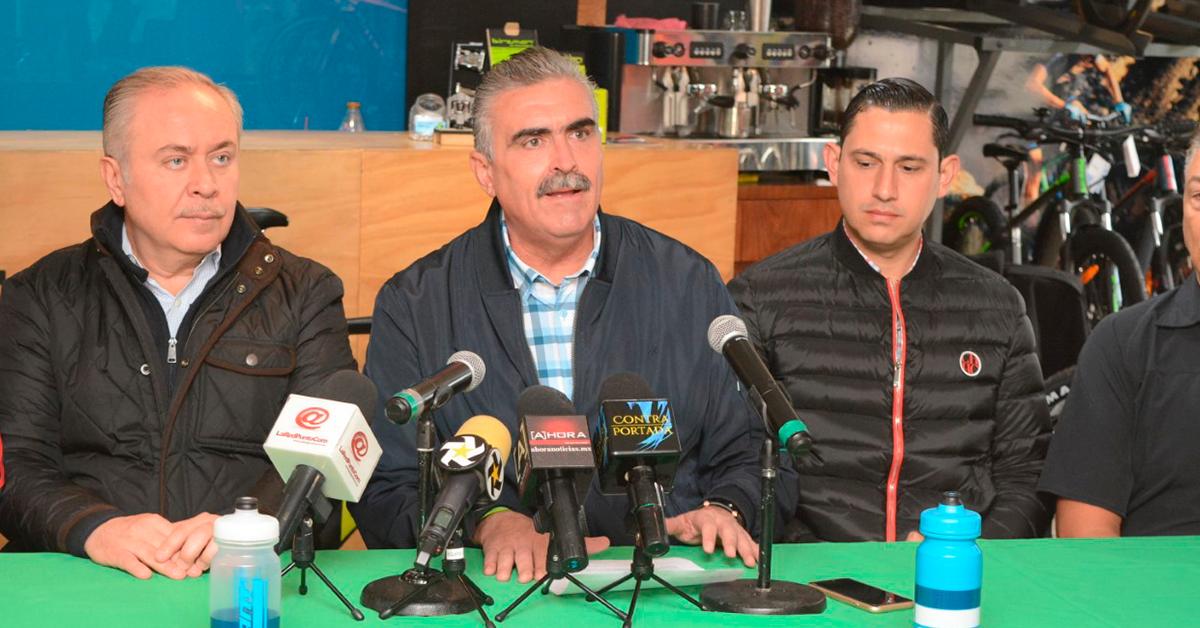 """Anuncia César Garza competencia ciclista """"Clásica de la Fundación de Apodaca"""""""