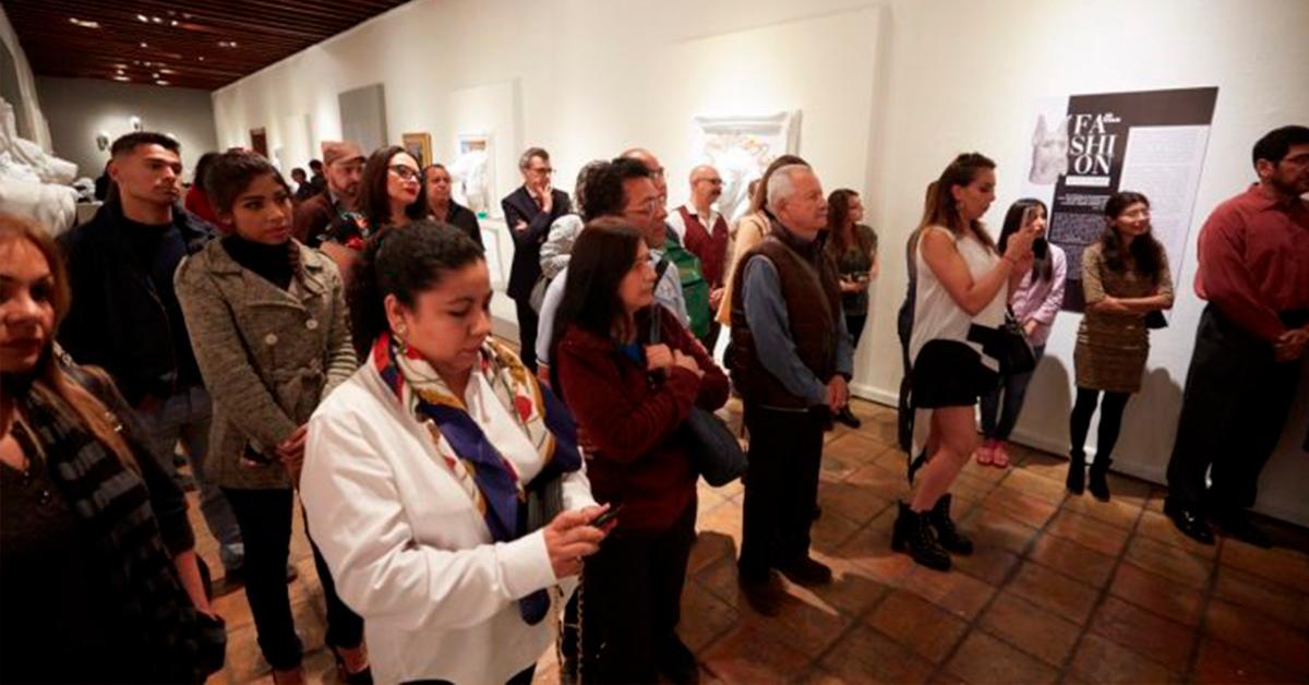 """Inauguran exposiciones """"Oda"""" y """"Fashion Victims"""""""