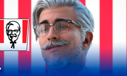 KFC Sorprende el coronel Sanders ya no es un ´viejito amable´