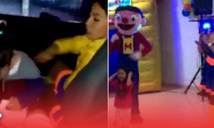 """""""Bely""""pirata causa polémica por agresión a niño (video)"""