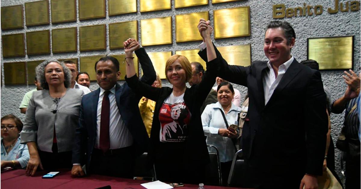 Claudia Tapia avisa que se va de la bancada de Morena