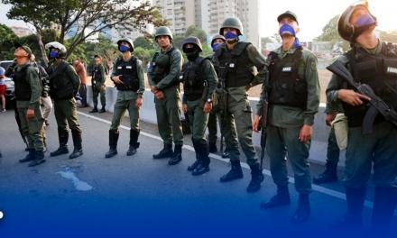 Disparan a Coronel de la Guardia Nacional venezolana