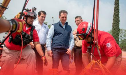 Supervisan seguridad en panteones de Monterrey