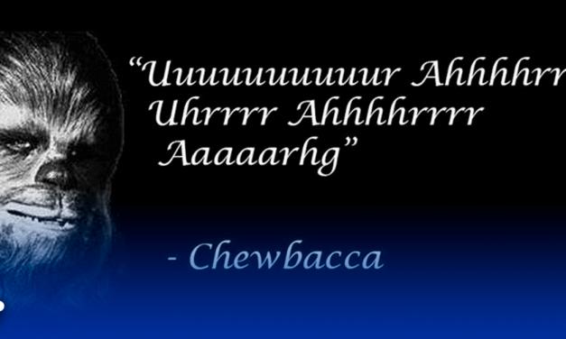 Las 10 mejores frases de Chewbacca