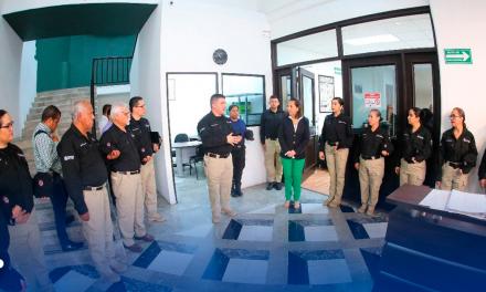Fortalecen el Instituto de Desarrollo Policial de Guadalupe