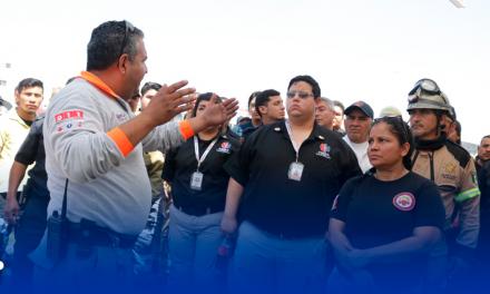 RECIBIRÁN ACTUALIZACIÓN ESPECIALIZADA BOMBEROS DE GUADALUPE EN LAREDO, TX