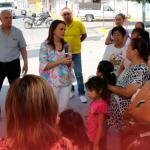 Entrega Clara Luz rehabilitación de avenida; beneficiará a 5 mil vecinos