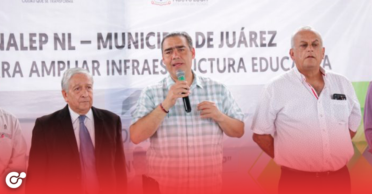 Juárez apoya extensión de planteles educativos