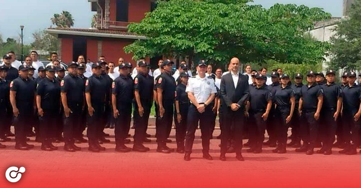 Tiene San Pedro a nuevos policías