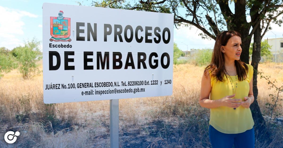 EXIGE ESCOBEDO A PROPIETARIOS LIMPIAR LOTES BALDÍOS PARA EVITAR INSEGURIDAD E INCEDIOS