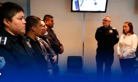 Dignificación policial en Guadalupe es permanente.