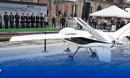 Publica Estado datos de compra de dron