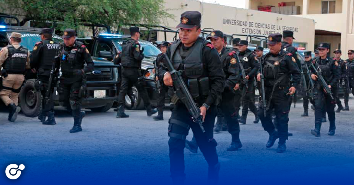 Toma Estado seguridad de Juárez