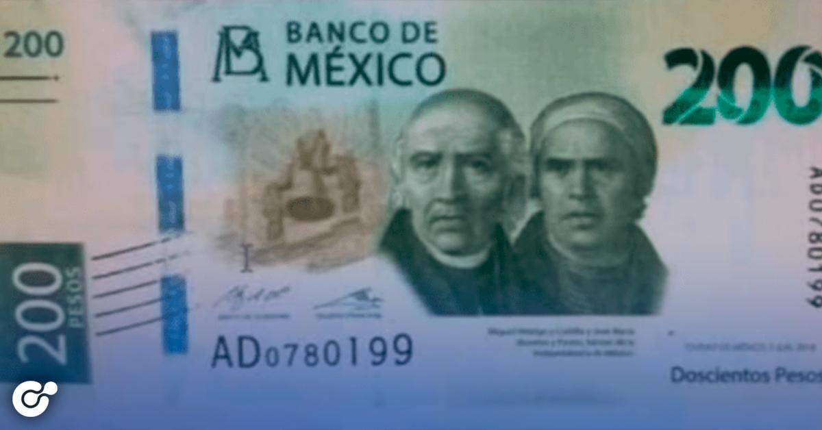 Billete de 200 pesos cambiará de imagen, alertan sobre nueva imagen falsa