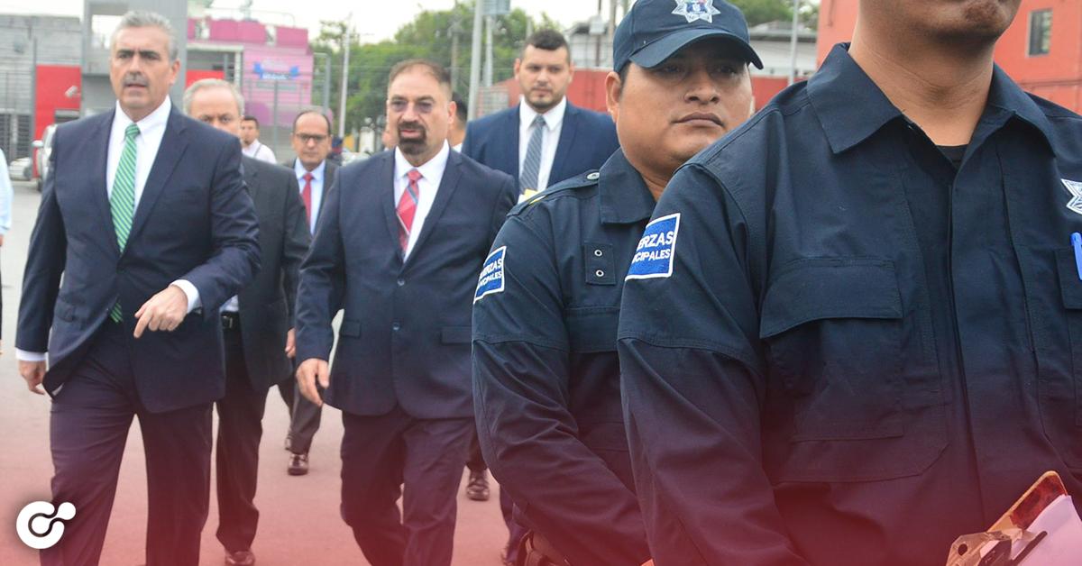 APODACA INCENTIVARÁ EL BUEN DESEMPEÑO DE LOS POLICÍAS