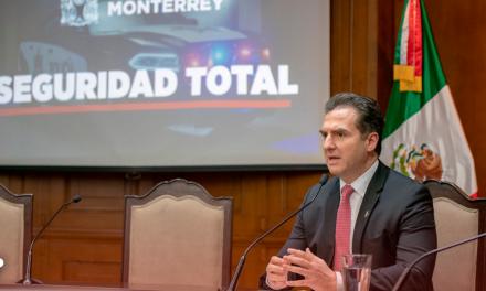 Adrián de la Garza pide control total de Policía en Monterrey