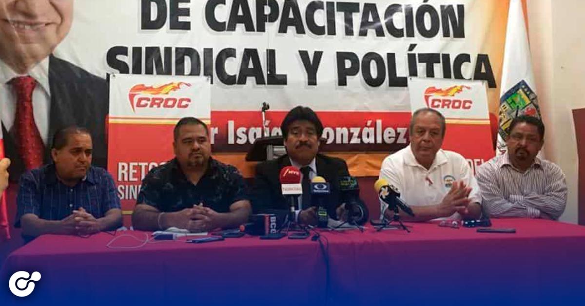 CROC presentan denuncia contra la CTM