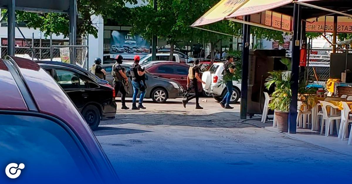 Se desencadena violencia en Culiacán, desatan pánico en las calles