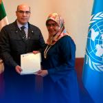 Firma San Nicolás Acuerdo de Contribución con ONU-Habitat
