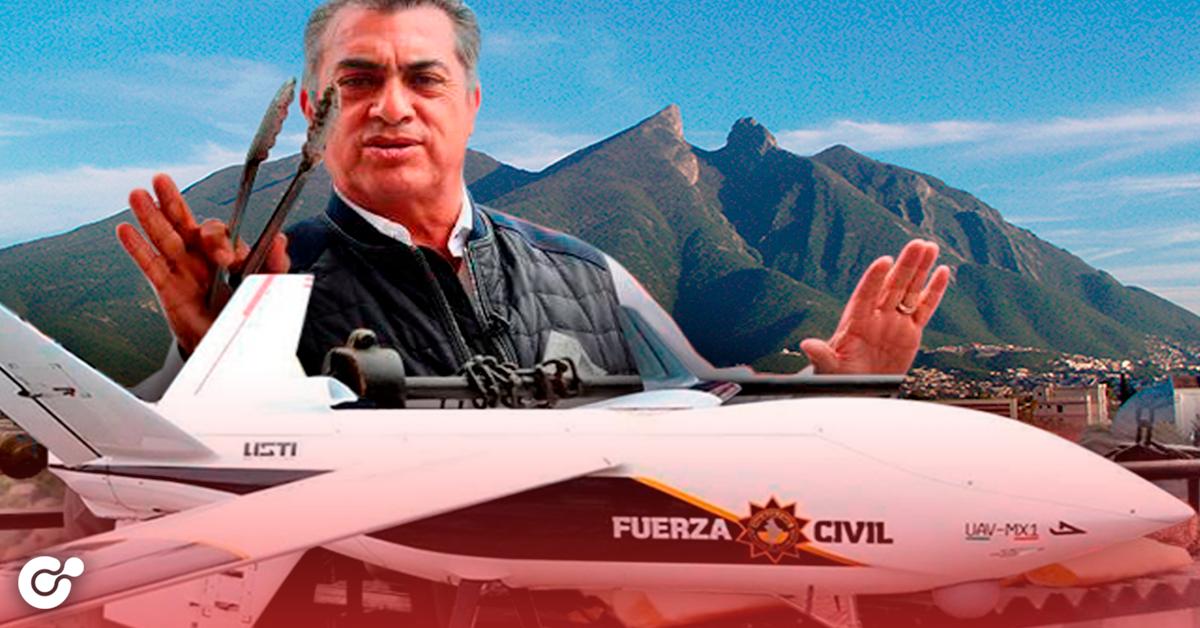 Nuevo León cancelará compra de Dron