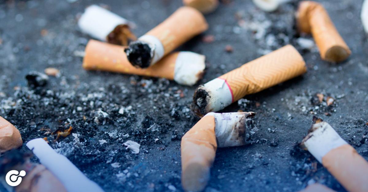 Multas de hasta $25 mil pesos por tirar colillas de cigarro