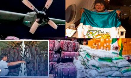 En el sismo del 2017 Evo Morales envío un avión cargado de ayuda para los damnificados en México/ Miles de mexicanos reprochan el asilo político