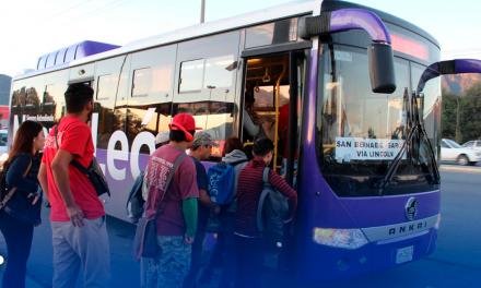 Arranca la nueva ruta Express San Bernabé García