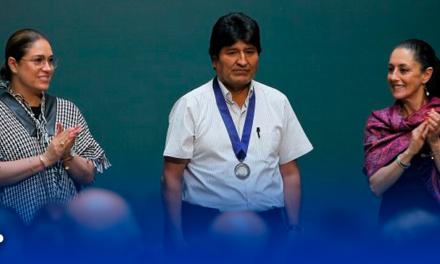 Nombran huésped distinguido de CDMX a Evo Morales