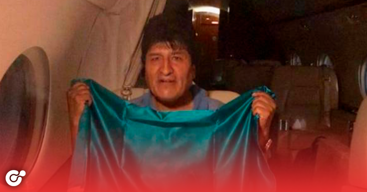 Evo Morales esta por llegar a México